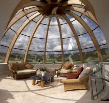 Best glass ceiling design ideas to enjoy the night sky 07