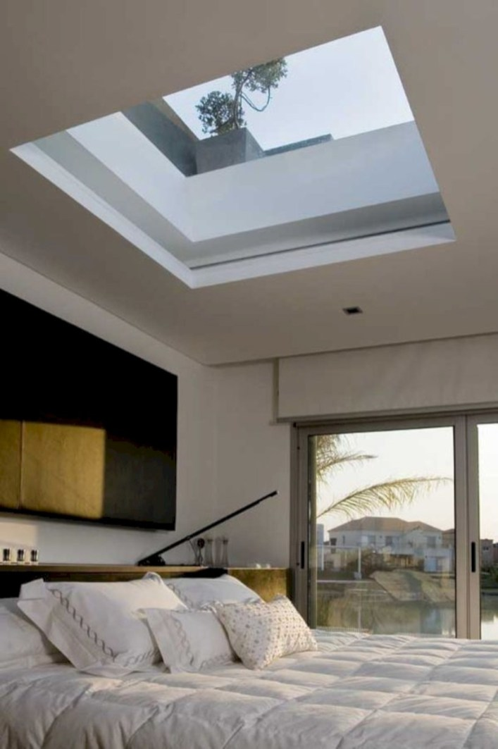 Best glass ceiling design ideas to enjoy the night sky 19