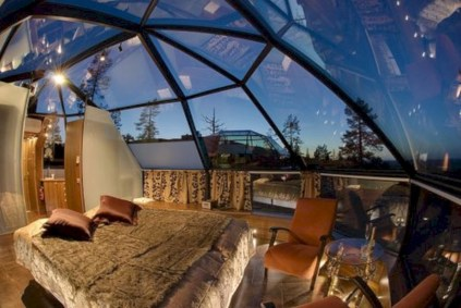 Best glass ceiling design ideas to enjoy the night sky 22