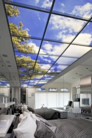 Best glass ceiling design ideas to enjoy the night sky 27