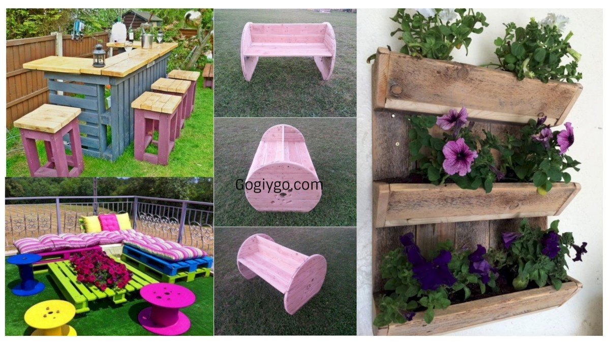 37 Best DIY Projects with Pallet for Your Garden