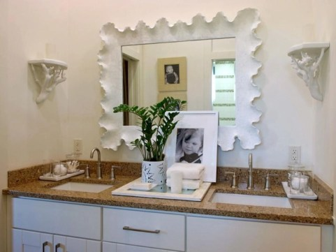 Clever ideas to makeover your mirror 15