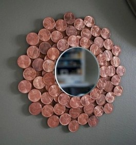 Clever ideas to makeover your mirror 22