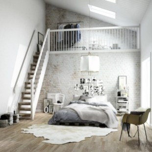 Cozy scandinavian-inspired loft 33