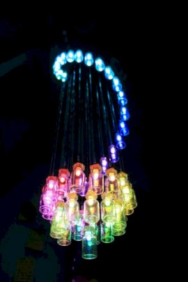 Crazy and cool diy chandeliers to beautify your space 08