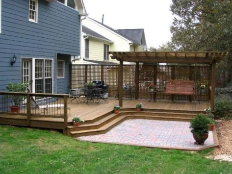 Creative pergola designs and diy options 07
