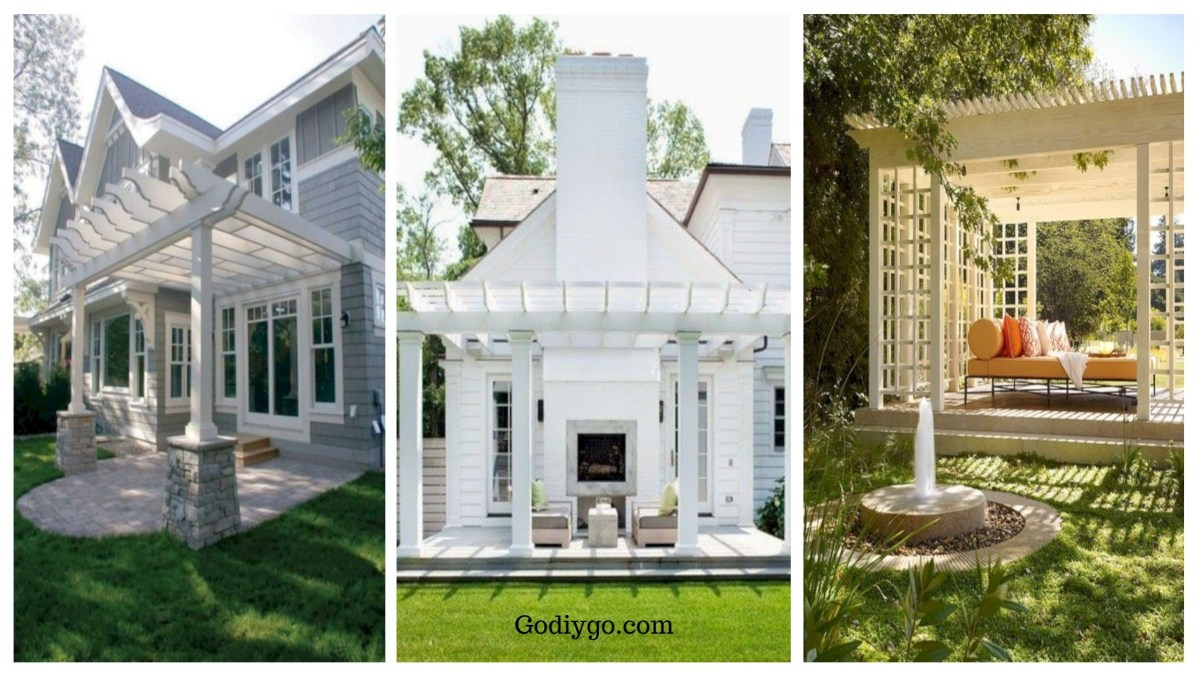 32 Creative Pergola Designs and DIY Options