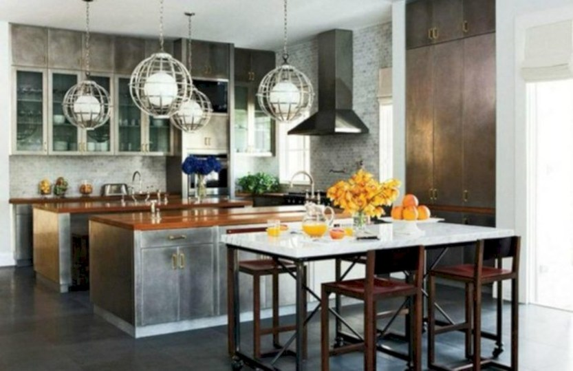 Distinctive kitchen lighting ideas for your kitchen 25