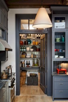 Gorgeous narrow kitchen with stunning details 26