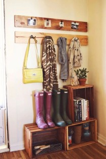 Impressive diys you need for your entryways 30