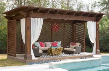 Inspiring diy backyard pergola ideas to enhance the outdoor 05