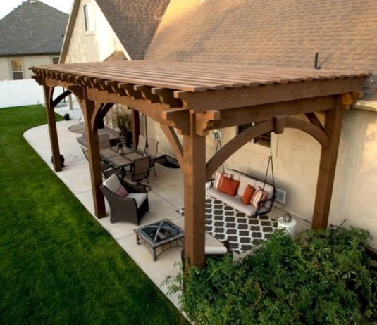 Inspiring diy backyard pergola ideas to enhance the outdoor 23