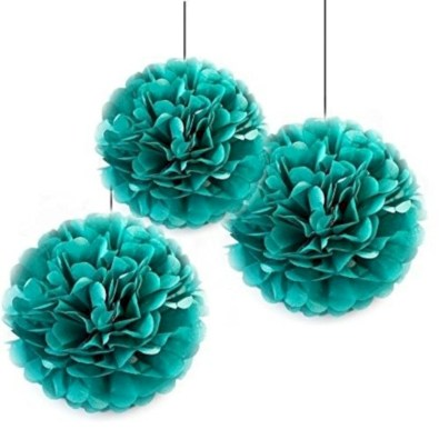Simple and easy diy tissue paper flower garland 06