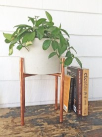 Stunning ideas to use copper pipes for your home decor 40