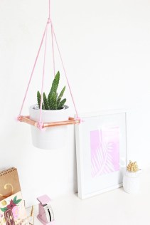 Stunning ideas to use copper pipes for your home decor 45