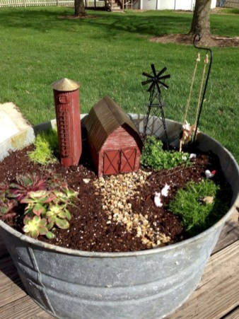 Super easy diy fairy garden ideas 08