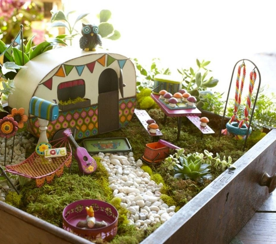 to make your own fairy garden choose the proper - Diy Fairy Garden