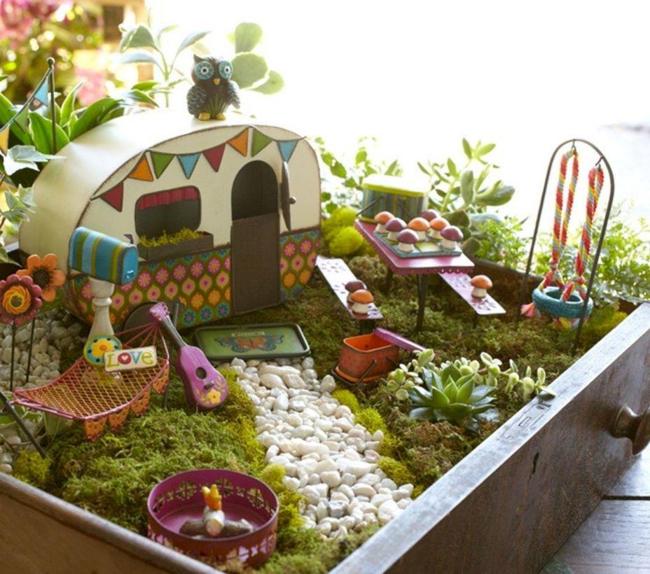To Make Your Own Fairy Garden ...
