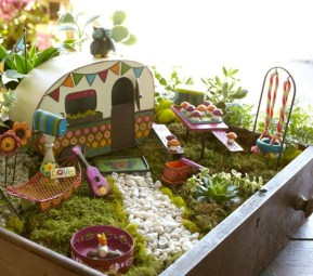 Super easy diy fairy garden ideas 31