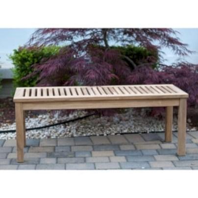Teak garden benches ideas for your outdoor 01