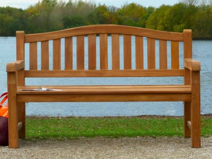 Teak garden benches ideas for your outdoor 03
