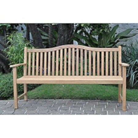 Teak garden benches ideas for your outdoor 12
