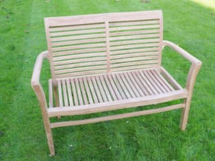 Teak garden benches ideas for your outdoor 22