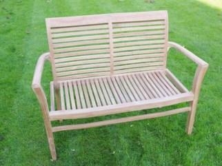 Teak garden benches ideas for your outdoor 22