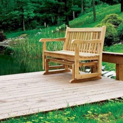 Teak garden benches ideas for your outdoor 25