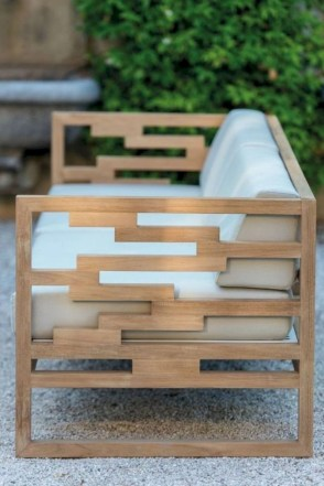 Teak garden benches ideas for your outdoor 27