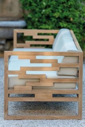 Teak garden benches ideas for your outdoor 27