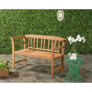 Teak garden benches ideas for your outdoor 36