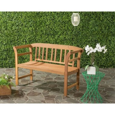 Teak garden benches ideas for your outdoor 36