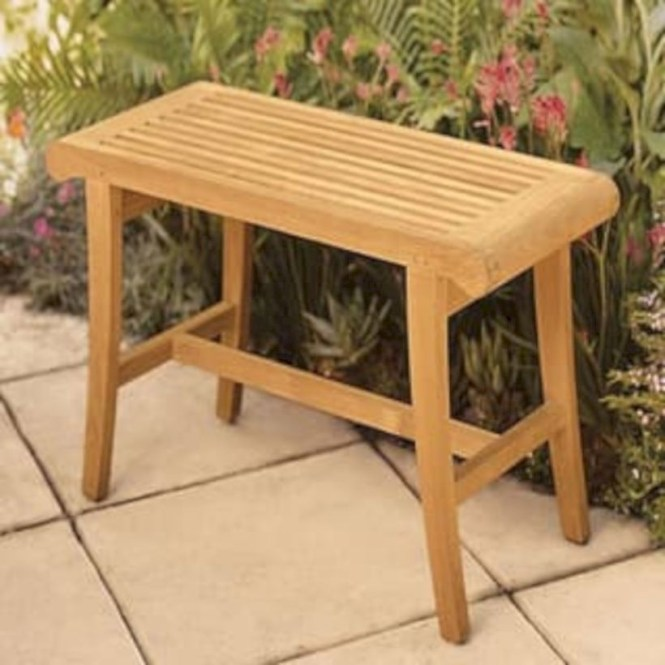 Teak garden benches ideas for your outdoor 40