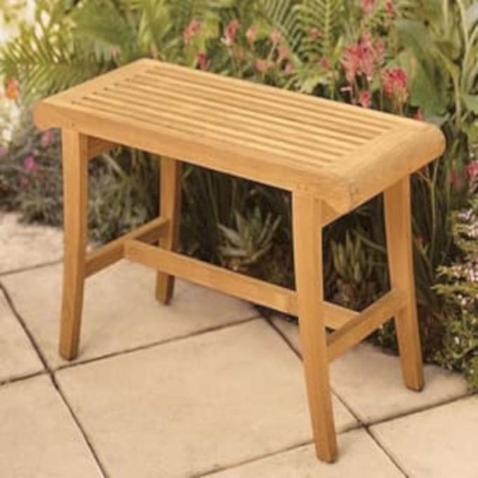 Teak garden benches ideas for your outdoor 40