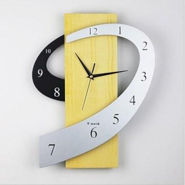 Unusual modern wall clock design ideas 05