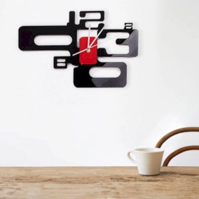 Unusual modern wall clock design ideas 19