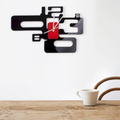 Unusual modern wall clock design ideas 19
