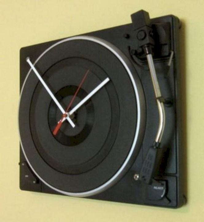 Unusual modern wall clock design ideas 26