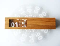Unusual modern wall clock design ideas 28