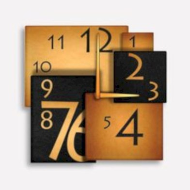 Unusual modern wall clock design ideas 31