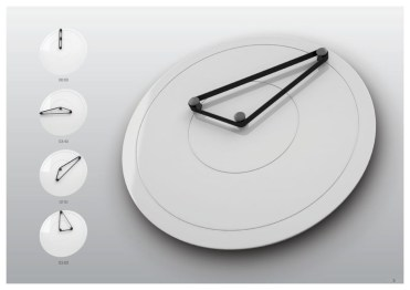 Unusual modern wall clock design ideas 36