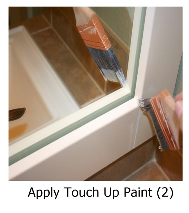 Apply Touch Up Paint
