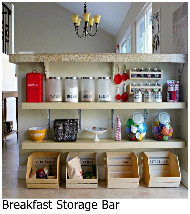 Breakfast storage bar