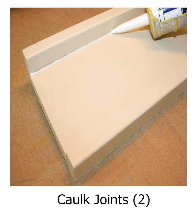Caulk Joints (2)