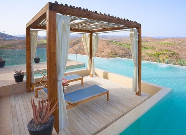 Pool cabana design