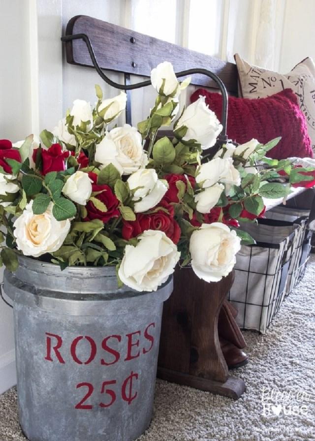 DIY Gallon Flower market bucket