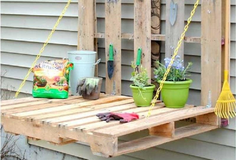 Assortment gardening counter