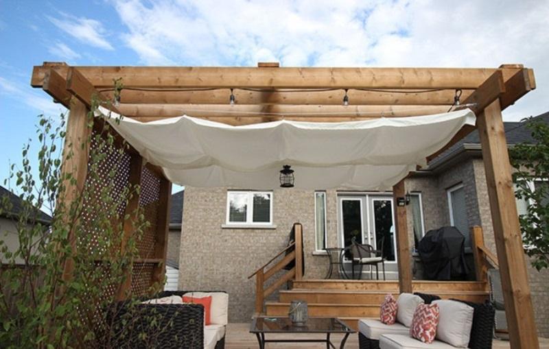 Diy modern canopy