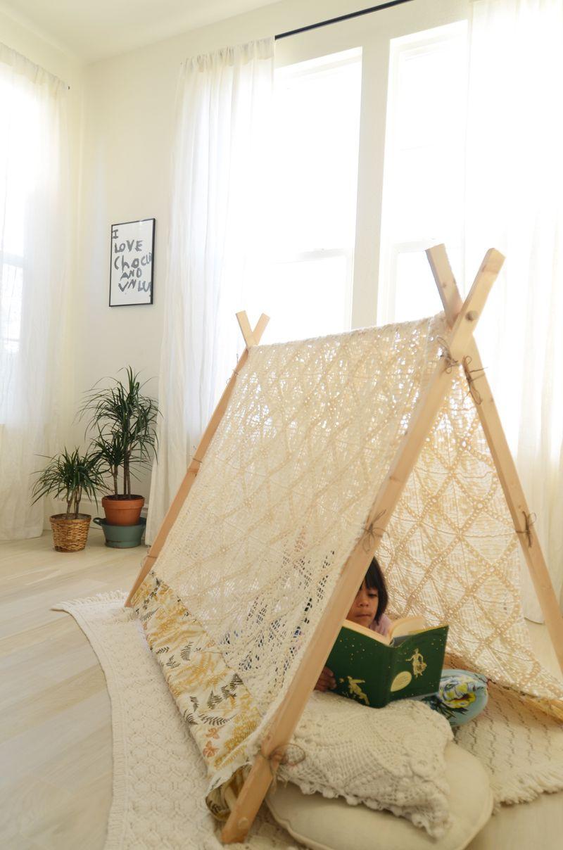 Easy frame tent
